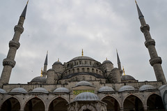 Blue Mosque Main Building (itchypaws) Tags: 2018 istanbul turkey europe holiday vacation sultan ahmed ahmet mosque camii blue