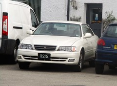 A Long Way From Home (occama) Tags: alongwayfromhome guernsey plate reg registration number cornwall uk chaser toyota jdm japanese