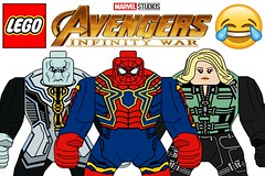 Funny Lego Avengers Infinity War Big Figs !!! (afro_man_news) Tags: lego funny sets fake custom all moc polybag marvel avengers infinity war superheroes thanos spiderman captain america iron man thor black panther hawkeye hulk doctor strange gamora loki scarlet witch starlord groot widow antman vision characters minifigures