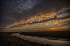 Atardecer en la Ribera.Moguer.Huelva. (LuisCordones73) Tags: atardecer moguer fuego nubes sky