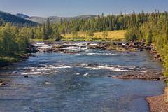 IMG_4835-1 (Andre56154) Tags: schweden sweden sverige landschaft landscape himmel sky wasser water ufer river forest