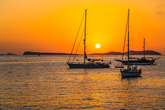Sunset in Sant Antoni Ibiza (Pétur Jónsson) Tags: sant antoni ibiza san antonio