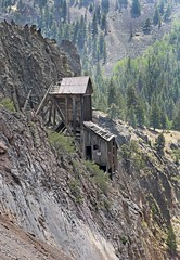 Shaft House at the Commodore Mine (Ron Wolf) Tags: creede historic abandoned building landscape mine mining shafthouse structure mineralcounty colorado