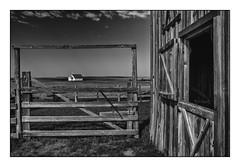 Framed (Rick Olsen) Tags: church barn bw blackwhite monochrome fuji fujifilm xt2