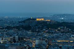 Athens (Maciej Dusiciel) Tags: architecture architectural city urban panorama cityscape thebluehour longexposure travel athens greece parthenon europe world sony alpha