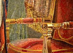 Mosaic Chair (pjpink) Tags: napoleon powerandsplendor historic exhibit virginiamuseumoffinearts virginiamuseum museum imperial vmfa art rva richmond virginia july 2018 summer pjpink 2catswithcameras
