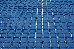 ready ... (Rosmarie Voegtli) Tags: inexplore repetition blue chairs rows againandagainandagain edinburgh tatoo bleu blau