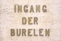 Ingang der burelen (Tim Boric) Tags: letters lettering ingangderburelen brussel bruxelles brussels