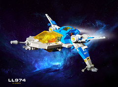 LL974-7 (LufoBrick) Tags: classicspace lego ship vintage classic space ll974