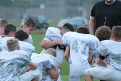 _G1A6610 (bubbaonthenet) Tags: 08232018 practice 6 stma community education 6th grade youth tackle football team 1 white saint michael minnesota 2018 middle school sport sports