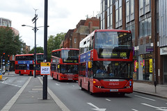 London United RATP Group SP40051 (YT09BNJ) on Route H98 (hassaanhc) Tags: ratp ratplondon scania omnicity