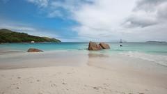 Anse Lazio beach...(1) (John Konstandis) Tags: canoneos5dmarkiii canonef1635mmf4lisusm seychelles island praslin sea seacoast beach water blue sky green sand exotic rock