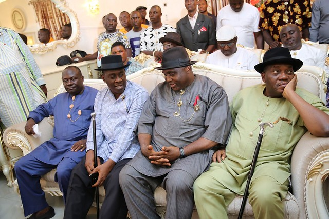 HSDickson- Condolence Visit to HIS Excellency by Southern IJaw Restoration Caucus. 24th August 2018