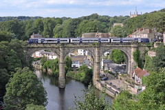 Knaresborough (mike_j's photos) Tags: class170 170476 northern knaresborough bridge river nidd viaduct