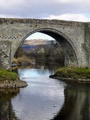Through the Bridge (sharon.corbet) Tags: stirling stirlingbridge stirlingoldbridge riverforth forth scotland uk 2018