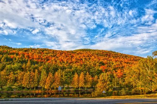 Lake Placid  - New York ~  Autumn Colours in the Adirondack Mountains
