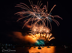 Firework Display Over Plymouth Harbour - British Firework Championships 2018 ( 'Illusion Fireworks' ) (Peter Greenway) Tags: 2018 water colourful flickr fireworks nightphotography plymouth pyrotechnics britishfireworkchampionships colours fireworkdisplay illusionfireworks winners barbicnharbour 2018britishfireworkchampionships reflectedlight reflected reflections excitement