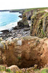 633 Stackpole Welsh coastal path (Pixelkids) Tags: stackpole pembrokeshire pembrokeshirecoastalpath wales coast landscape landschaft cliffs explored explored411