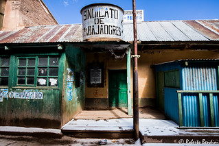 Miners' trade union, Pulacayo, Bolivia