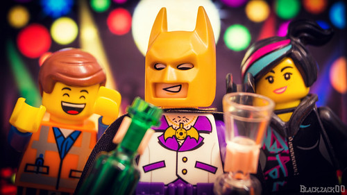 I'm Batman and I like to party with his friends