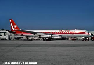 AeroPeru DC-8-62H OB-1323