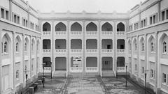 Dhofar University Campus (Packing-Light) Tags: 120 6x45 mamiya6451000s analog film mediumformat monochrome blackandwhite kodak trixpan400 reversal emulsion negative silver salalah oman middleeast