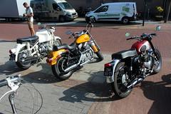 From left: 1968 BMW R 69 S, 1994 Harley Davidson XLH 1200 Sportster, 1955 BSA B31 (Davydutchy) Tags: oldtimerdag ruinerwold drenthe drente meeting treffen show oldtimer classic klassiker klassiek veterán car auto automobiel automobile bil avto voiture vehicle pkw motor motorbike bike motorfiets motorcycle moto motorrad krad motorcykel motorka мотоцикл μοτοσικλέτα دراجات نارية bmw r69s 69 harley davidson xlh12 12 bsa b31 august 2018