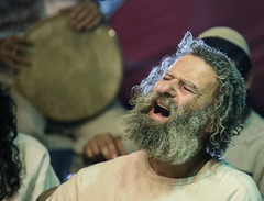 Happy New Jewish Year (ybiberman) Tags: israel jerusalem man pray sing drum devotion jew beard streetphotography candid people