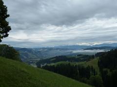Goodbye (Marit Buelens) Tags: town langnau switzerland suisse schweiz emmental alps alpen bern moosegg clouds fog mist sunrise morning
