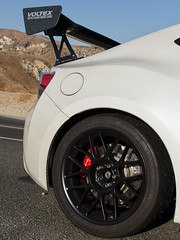 "Oren's FRS with 17"" ARC-8 Wheels (ApexRaceParts) Tags: 17 frs ft86 brz 86 white black brembo wing"