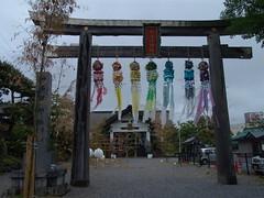 Tanabata at Tanabu Shrine (田名部神社の七夕) (しまむー) Tags: sony cybershot dscf828 f828 carl zeiss variosonnar t 751mm 28200mm f228 walk mutsu rain rainy