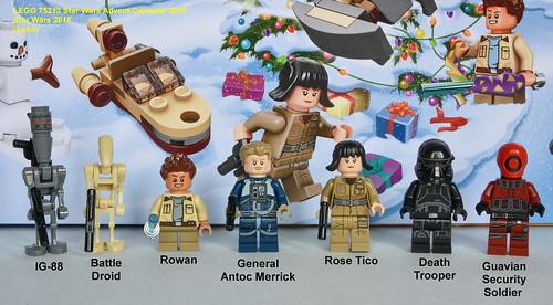 75213 Lego Star Wars Advent Calendar 2018