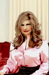Pink satin blouse! (donnacd) Tags: sissy tgirl tgurl dressing crossdress crossdresser cd travesti transgenre xdresser crossdressing feminization tranny tv ts feminized jumpsuit domina blouse satin lingerie touchy feely he she look 易装癖 シー