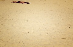 The Beach Tribes : Τhe Exhausted (Storyteller.....) Tags: summer tribes island sand man exhausted lay down beach greece vacation