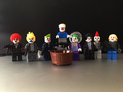 The Last Laugh (bricksfreaks) Tags: dc comics dccomics batman custom customminifigures minifigures minifigs lego customlego joker captainclown superheroes villains gotham laughinggas animatedseries tas bricks bricksfreaks