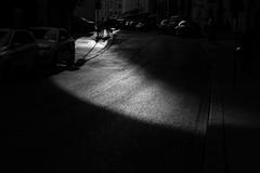 Path of Light (Jontsu) Tags: light shadow shadows street streetphotography black white high contrast bw munich munchen germany deutschland nikon d7200 50mm minimalistic minimal europe