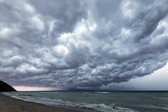 Fast Approaching  [Explore] (GLASman1) Tags: storm lakemichigan lightning sleepingbeardunesnationallakeshore empirebeach empirebluff clouds handheld nikond750