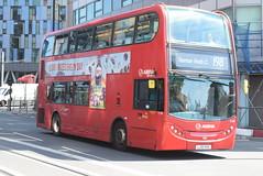 AL T129 @ West Croydon bus station (ianjpoole) Tags: arriva london alexander dennis enviro 400 lj10hvk t129 working route 198 shrublands bramble close spring park talbot road thornton heath