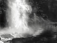 Nordland. Norway (ibethmuttis) Tags: water waterfall valnesfoss nordland norway iphone texture river