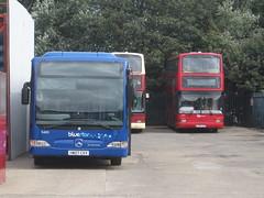 Go North East 5485 (HW07 CXV) & 6931 (LK54 GZV). Saltmeadows Road Depot, Gateshead (captaindeltic55) Tags: