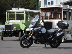 Suzuki V-Strom 1000 (Megashorts) Tags: oldwarden bedfordshire england uk shuttleworthcollection history museum olympus omd em1 mzd shuttleworth 40150mm f28 pro 2018 suzuki vstrom 1000 motorcycle motorbike