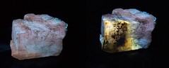 Thermal Alteration of Calcite Luminescence (MAPP Torch) - UVa (someHerrings) Tags: calcite succorcreek thermal alteration ree