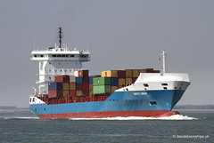 Ship. Grete Sibum 9398773 (dickodt65) Tags: ship river schelde containership grete sibum