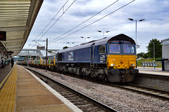 66434 - Peterborough - 28/08/18. (TRphotography04) Tags: direct rail services drs 66434 stands peterborough working 1130 whitemoor yard ldc gbrf doncaster up decoy