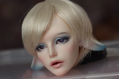 Face-up commission (Guinevere88) Tags: bjd bjdfaceup balljointeddoll souldoll faceup faceupcommission faceupbjd faceupforbjd makeupfordoll makeup