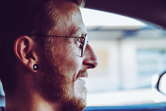 Matthias (spastman1) Tags: 1650mm nx nx1 porträt samsung beard face freckles glasses guy portrait spastman1 summer