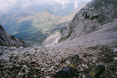 (Federico Raviele) Tags: cimon della bagozza orobie schilpario alps film 35mm ghiaione alpi adventures federico raviele