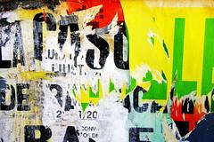 Torn Poster (klauslang99) Tags: klauslang torn postrer city urban letters abstract