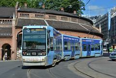 Oslo, Kirkeristen 15.06.2018 (The STB) Tags: oslo tram tramway strasenbahn strassenbahn öpnv publictransport citytransport trikk