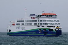 Victoria Of Wight, The Solent, August 10th 2018 (Southsea_Matt) Tags: victoriaofwight ferry wightlink hybrid unitedkingdom england hampshire portsmouth thesolent ship vessel canon 80d 100400mm august 2018 summer